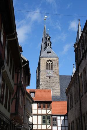 vicar: A church in Quedlinburg