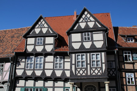 timbered: Timbered houses