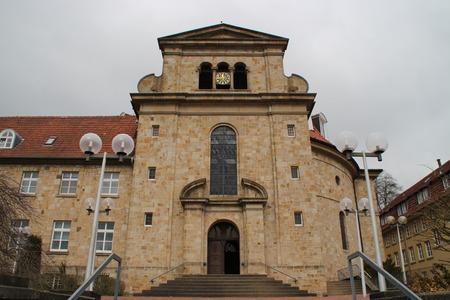 monastery: A monastery Stock Photo