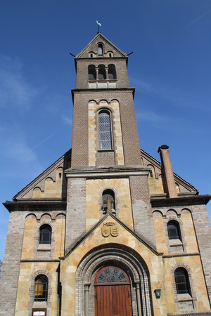 vicar: A clock tower