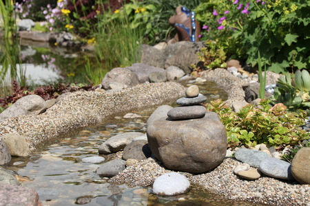 piled: Piled stones