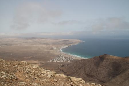 lanzarote: The coast of Lanzarote Stock Photo