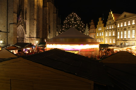 gabled houses: A Christmas Market