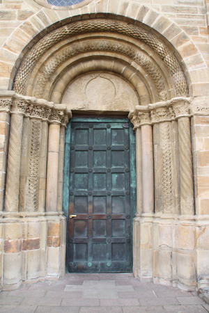 Eine chuch Tür Standard-Bild - 57919238