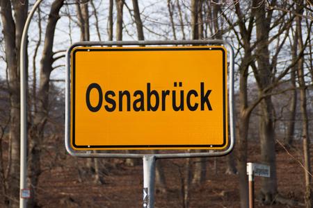 A sign Osnabrueck