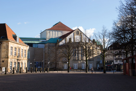 The theater in Osnabrueck