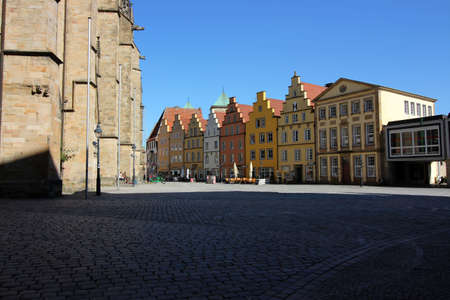 The town hall place in Osnabrueck Editorial