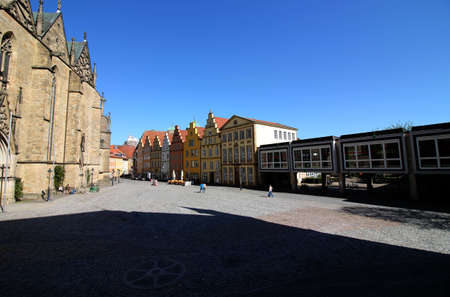 The town hall square in Osnabrueck Editorial