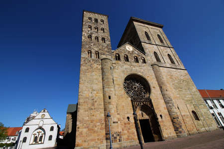 The cathedral in Osnabrueck Editorial