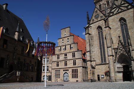 The marketplace in Osnabrück