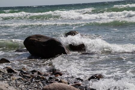 Boulders in the Baltic Sea