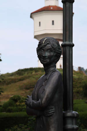 A Lale Andersen Monument on Langeoog
