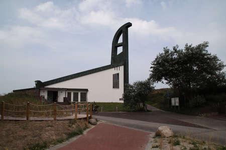 The St.Nikolaus church on Langeoog