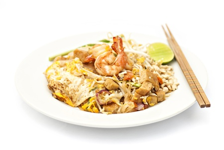 Padthai, Thai noodle with shrimp