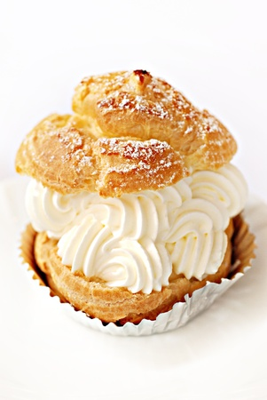 cake with icing: Choux Cream