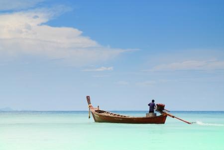 Boat on Andaman Sea Stock Photo - 14623767