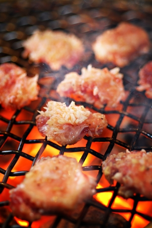 Beef bbq grilled, Japanese cuisine
