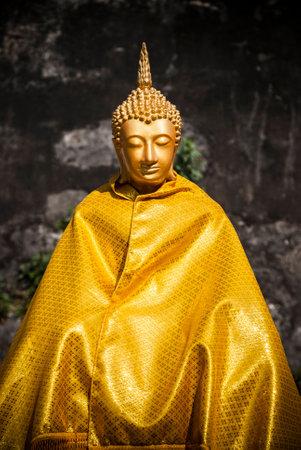 budda: Gold budda thailand Stock Photo