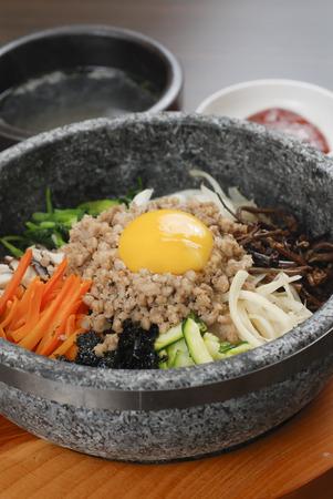 Korean food  Stok Fotoğraf