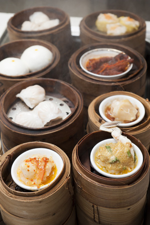 dim sum: dim sum chinese food, hongkong food Stock Photo