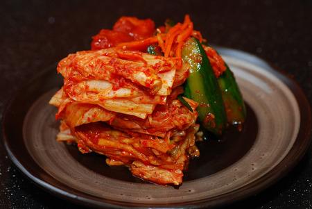 kimchi contorno cibo coreano