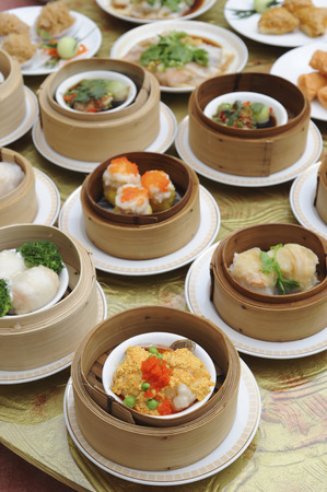 Dim sum Stock Photo