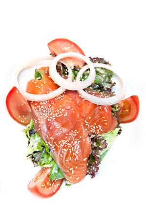 smoked salmon: Smoked Salmon Salad