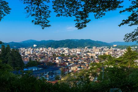 travel japan: summer in Takayama, sightseeing travel japan Stock Photo