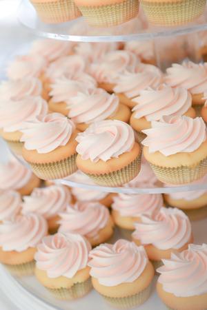 fondant fancy: Cupcake in wedding party