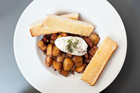 fried snack: potato deep fried snack