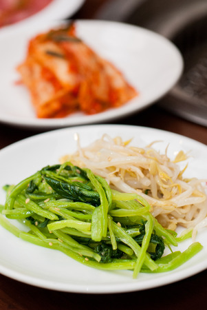 side dishes: Korean side dishes