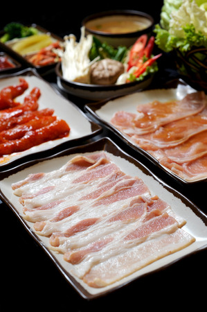 dining set: Korean BBQ dining set