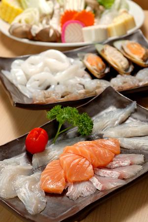 seafood japanese hot pot
