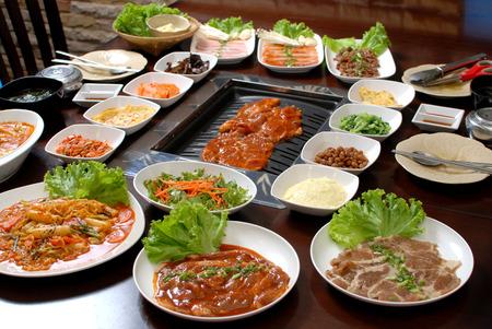 Korean BBQ Reklamní fotografie