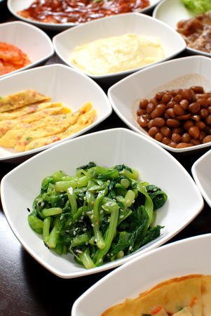 Korean side dishes Reklamní fotografie