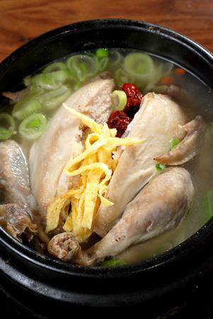 favorite soup: Ginseng Chicken Soup, Korean favorite hot bowl menu