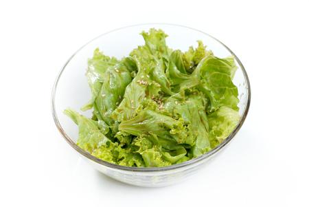 korean salad: side dish salad Korean barbecue