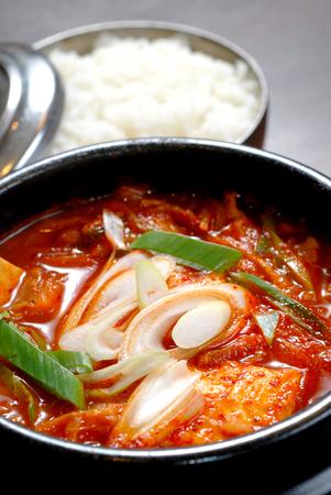 kimchi soup recipe, Korean food