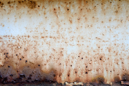 corrosion: Dirty Corrosion on iron wall Stock Photo