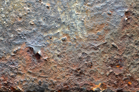 corrosion: Dirty Corrosion on iron wall texture Stock Photo