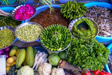 varieties: Varieties fresh vegetable in chinese market