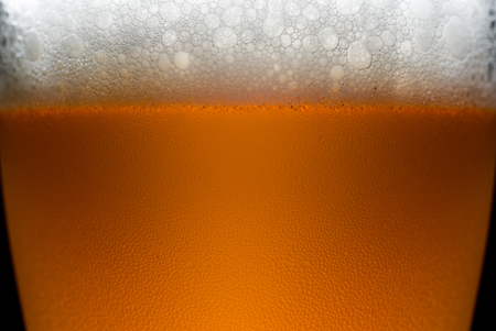 real ale: Craft Beer bubbles background texture
