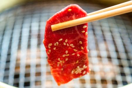 和風バーベキュー、焼肉や肉のグリル文学の意味日本語で呼び出されます。