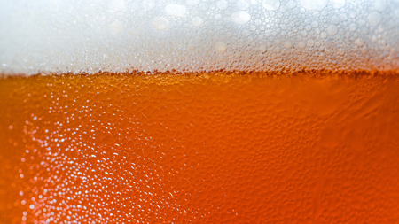 Craft Beer bubbles texture on Glasses