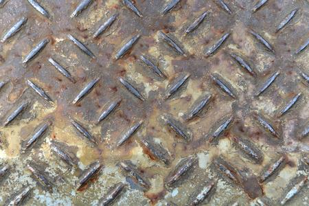 corrosion: Dirty Corrosion on iron floor texture