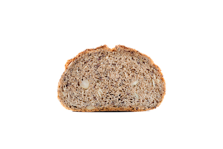nourishing: sliced multigrain bread texture Stock Photo