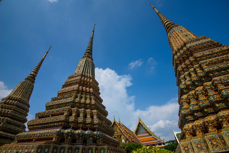 Wat Pho or Wat Phra Chetuphon Vimolmangklararm Rajwaramahaviharn is one of Bangkoks oldest temples, it is on Rattanakosin Island, directly south of the Grand Palace.