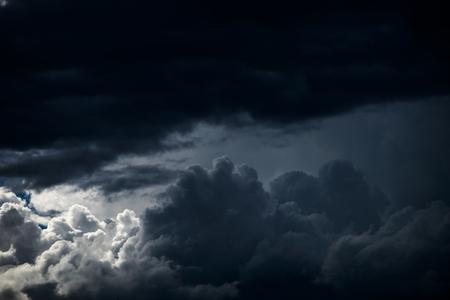 tormenta nubes cielo textura de fondo