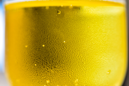 close up champagne glass texture background