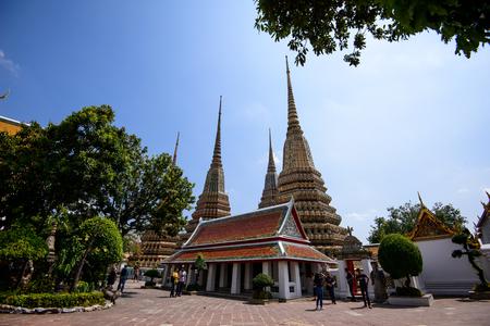 Wat Pho or Wat Phra Chetuphon Vimolmangklararm Rajwaramahaviharn is one of Bangkok's oldest temples